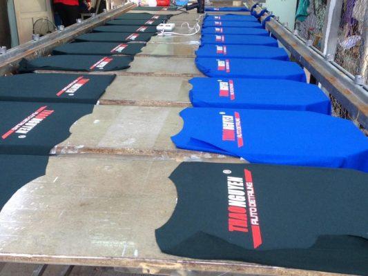 xưởng áo thun trơn