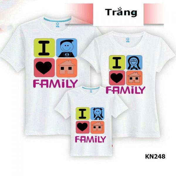 áo thun gia đình đẹp