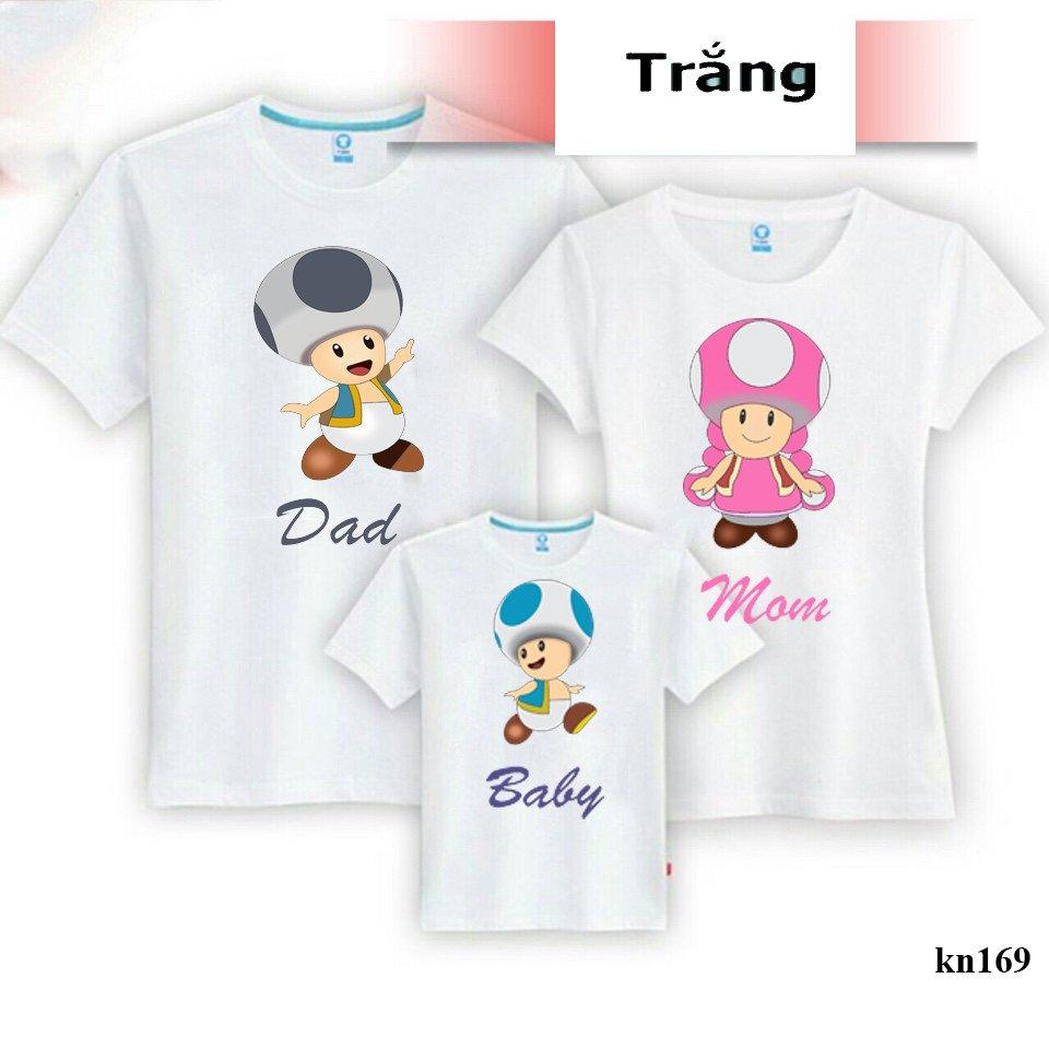 áo phông đồng phục gia đình