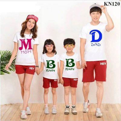 đồng phục gia đình 3 người