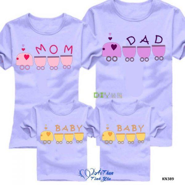 những mẫu áo gia đình đẹp