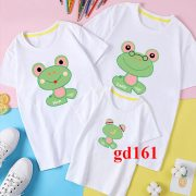 áo gia đình cao cấp mẫu nhà ếch