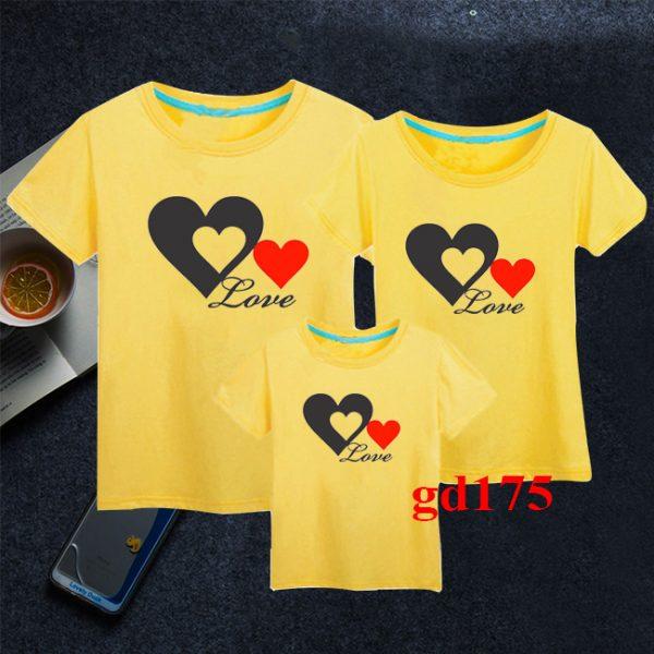 các mẫu áo đồng phục gia đình