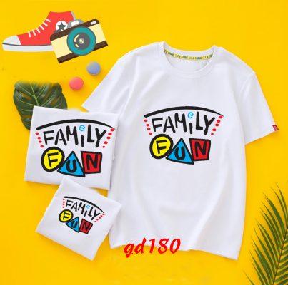 đặt áo gia đình