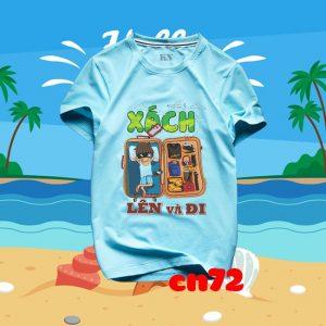 mẫu áo nhóm đi biển hot nhất hiện nay