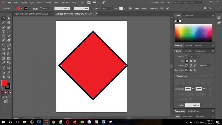 các hình dạng Shape trong Illustrator