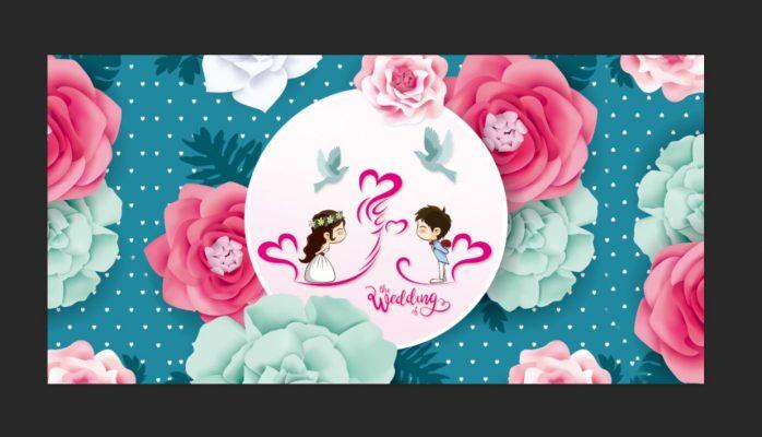 backdrop đám cưới