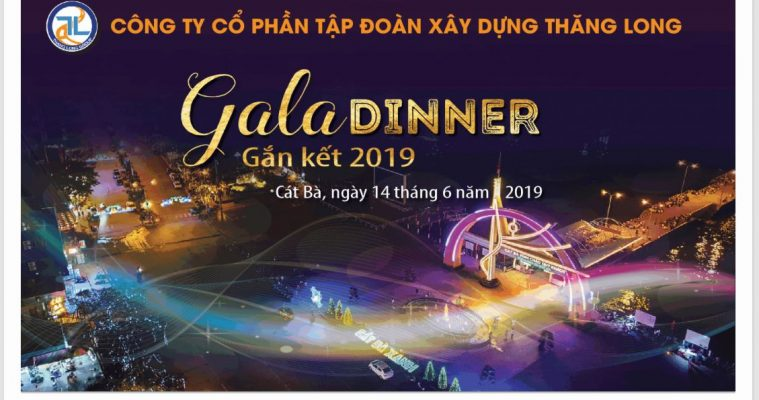 backdrop gala dinner