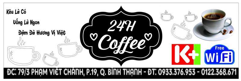 bảng hiệu cafe vector