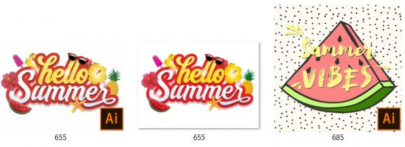 free vector hello summer - Hello summer blurred background vector