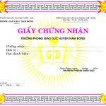 khung giấy chứng nhận đẹp [Share]