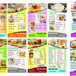mẫu menu đẹp psd [Share menu quán chè]
