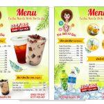 mẫu menu trà sữa file corel [Share]