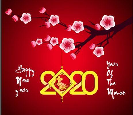 mẫu nền chúc mừng năm mới