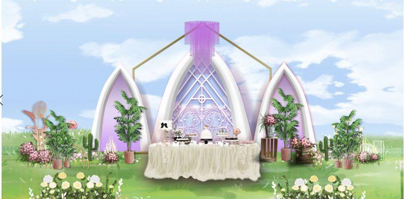 mẫu phông cưới hiện đại psd