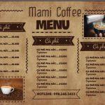 menu quán cafe đẹp [Share]