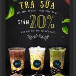 poster quảng cáo trà sữa [Share]