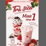 thiết kế poster trà sữa [Share]