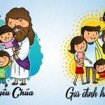 vector áo gia đình công giáo [Share]