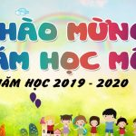 background khai giảng mầm non vector [share]