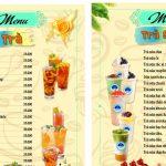 các mẫu menu có sẵn [Share]