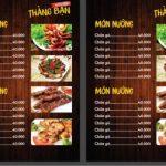 download mẫu menu quán nhậu đẹp [share]