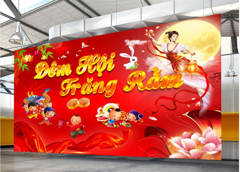 file banner trung thu vector