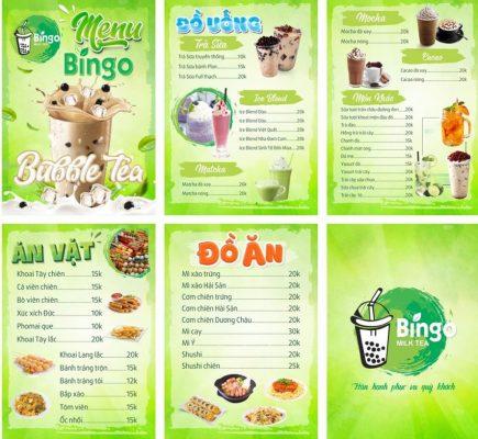 file thiết kế menu