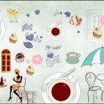 giấy dán tường quán cafe [Share]