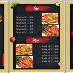 mẫu menu đẹp file word miễn phí [Share]