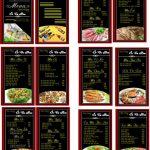 mẫu thực đơn nhà hàng file corel [share]
