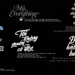 typography việt trắng đen [Share]