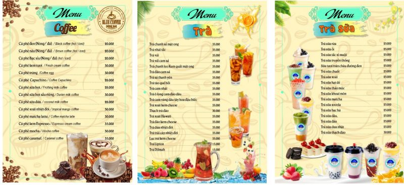 download mẫu menu cafe đẹp file word