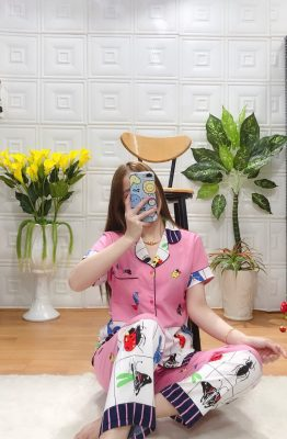 đồ bộ pijama phi bóng nữ