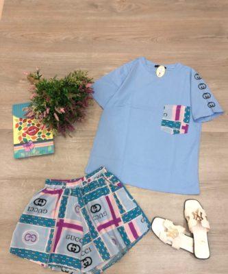 Quần áo bộ nữ mùa hè